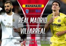 Prediksi Real Madrid vs Villarreal 17 Juli 2020