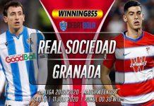 Prediksi Real Sociedad vs Granada 11 Juli 2020