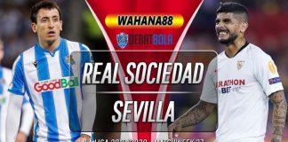 Prediksi Real Sociedad vs Sevilla 17 Juli 2020