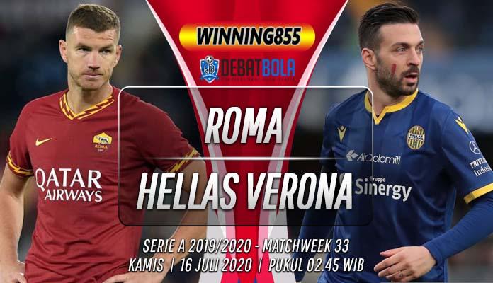 Prediksi Roma vs Hellas Verona 16 Juli 2020