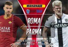Prediksi Roma vs Parma 9 Juli 2020