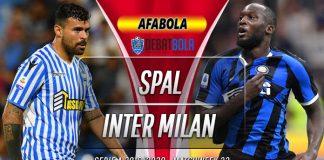Prediksi SPAL vs Inter Milan 17 Juli 2020