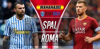 Prediksi SPAL vs Roma 23 Juli 2020