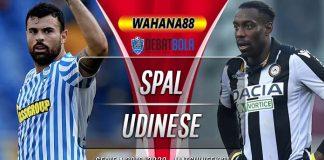Prediksi SPAL vs Udinese 10 Juli 2020