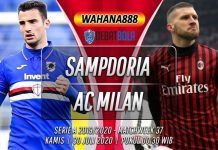 Prediksi Sampdoria vs Milan 30 Juli 2020