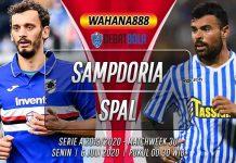 Prediksi Sampdoria vs SPAL 6 Juli 2020