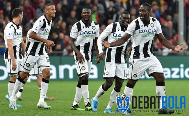Prediksi Sassuolo vs Udinese 3 Agustus 2020
