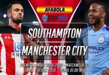 Prediksi Southampton vs Manchester City 6 Juli 2020