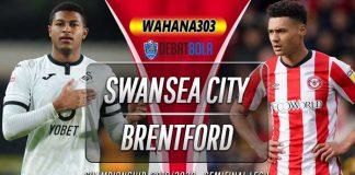 Prediksi Swansea City vs Brentford 27 Juli 2020