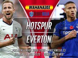 Prediksi Tottenham Hotspur vs Everton 7 Juli 2020