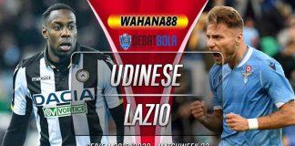 Prediksi Udinese vs Lazio 16 Juli 2020