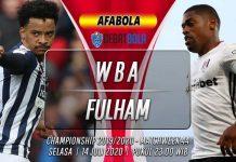 Prediksi West Bromwich Albion vs Fulham 14 Juli 2020