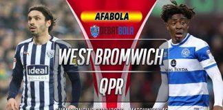 Prediksi West Bromwich Albion vs Queens Park Rangers 23 Juli 2020