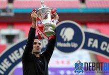 Arsenal Juara Piala FA, Arteta Berterima Kasih Pada Guardiola
