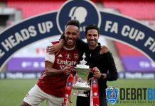 Arteta Bujuk Aubameyang untuk Tak Tinggalkan Arsenal