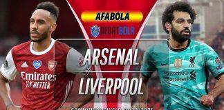 Prediksi Arsenal vs Liverpool 29 Agustus 2020