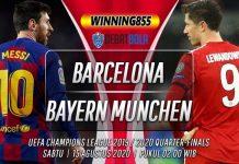 Prediksi Barcelona vs Bayern Munchen 15 Agustus 2020