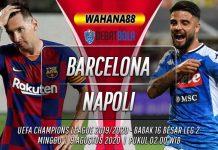 Prediksi Barcelona vs Napoli 9 Agustus 2020