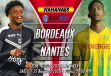 Prediksi Bordeaux vs Nantes 22 Agustus 2020