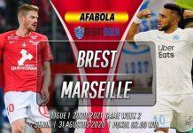 Prediksi Brest vs Marseille 31 Agustus 2020