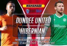 Prediksi Dundee United vs Hibernian 12 Agustus 2020