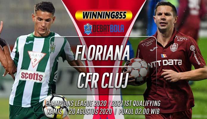 Prediksi Floriana vs CFR Cluj 20 Agustus 2020