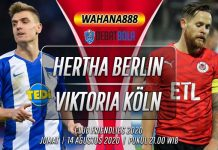 Prediksi Hertha Berlin vs Viktoria Köln 14 Agustus 2020