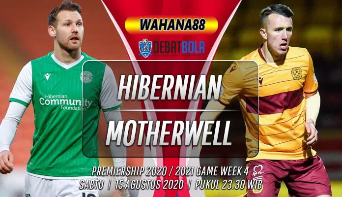 Prediksi Hibernian vs Motherwell 15 Agustus 2020