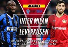 Prediksi Inter Milan vs Bayer Leverkusen 11 Agustus 2020