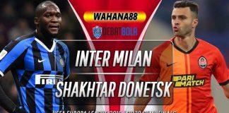 Prediksi Inter Milan vs Shakhtar Donetsk 18 Agustus 2020