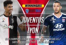 Prediksi Juventus vs Lyon 8 Agustus 2020