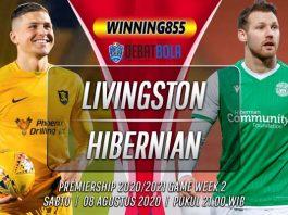 Prediksi Livingston vs Hibernian 8 Agustus 2020