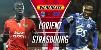 Prediksi Lorient vs Strasbourg 23 Agustus 2020