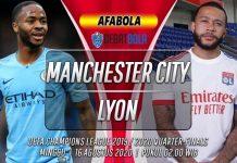 Prediksi Manchester City vs Lyon 16 Agustus 2020