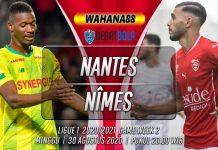 Prediksi Nantes vs Nîmes 30 Agustus 2020