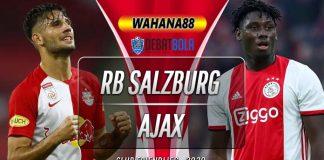 Prediksi RB Salzburg vs Ajax 22 Agustus 2020