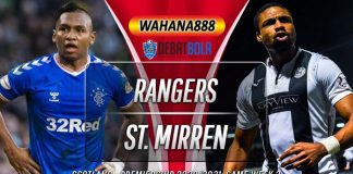 Prediksi Rangers vs St. Mirren 9 Agustus 2020