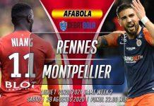 Prediksi Rennes vs Montpellier 29 Agustus 2020