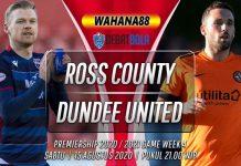 Prediksi Ross County vs Dundee United 15 Agustus 2020