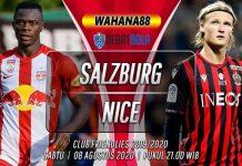 Prediksi Salzburg vs Nice 8 Agustus 2020