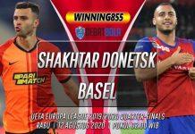 Prediksi Shakhtar Donetsk vs Basel 12 Agustus 2020