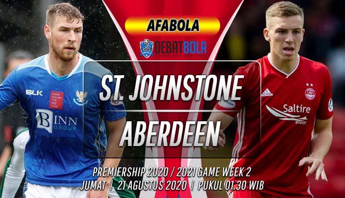 Prediksi St. Johnstone vs Aberdeen 21 Agustus 2020
