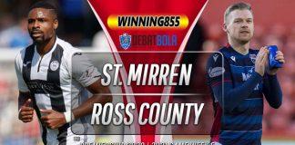 Prediksi St. Mirren vs Ross County 22 Agustus 2020
