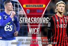 Prediksi Strasbourg vs Nice 30 Agustus 2020