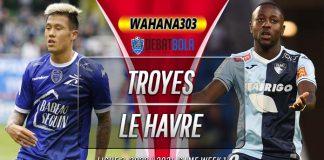 Prediksi Troyes vs Le Havre 25 Agustus 2020