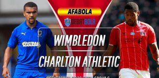 Prediksi Wimbledon vs Charlton Athletic 1 September 2020