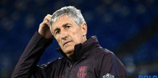 Quique Setien Tak Khawatir Dipecat Barcelona