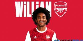 Willian Borges Resmi Menyebrang ke Arsenal