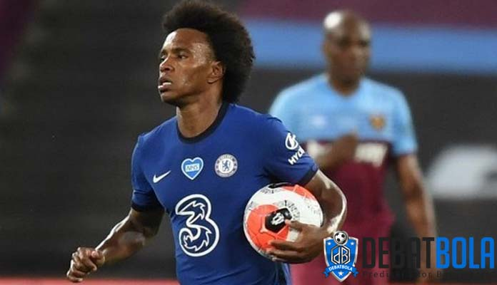 Willian Borges Resmi Tinggalkan Chelsea