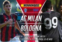 Prediksi AC Milan vs Bologna 22 September 2020
